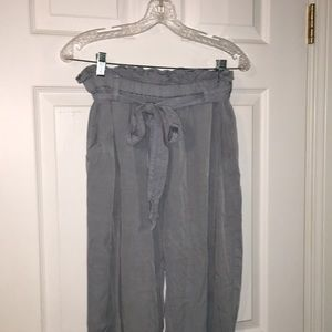 H&M paper bag pants